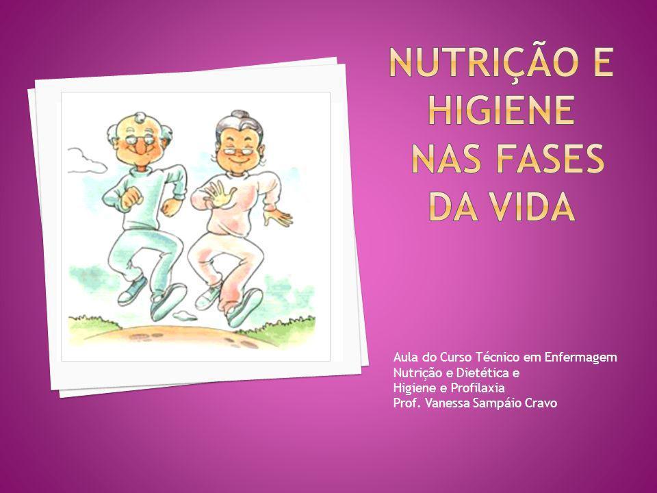 Aula do Curso Técnico em Enfermagem Nutrição e Dietética e Higiene e Profilaxia Prof. Vanessa Sampáio Cravo