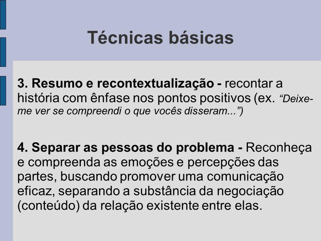 Técnicas básicas 5.