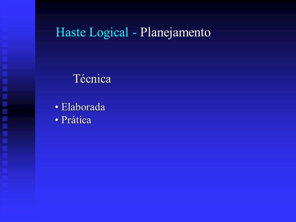 Haste Logical - Planejamento Técnica Elaborada Elaborada Prática Prática