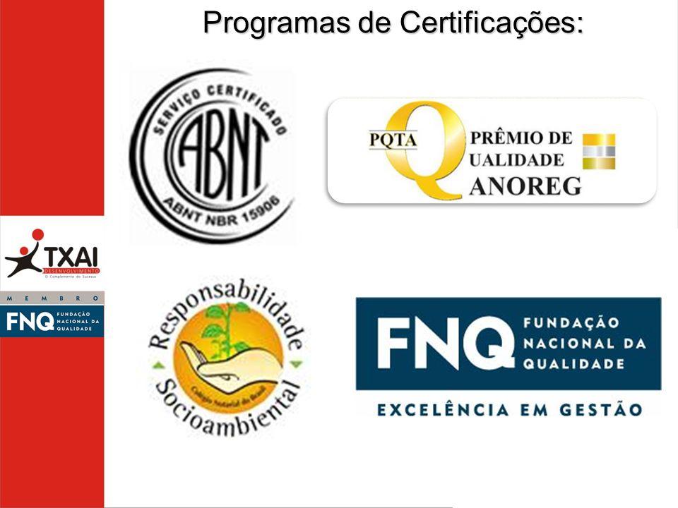 Programas de Certificações: