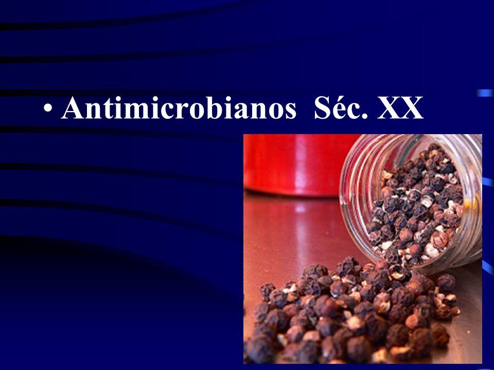 Antimicrobianos Séc. XX