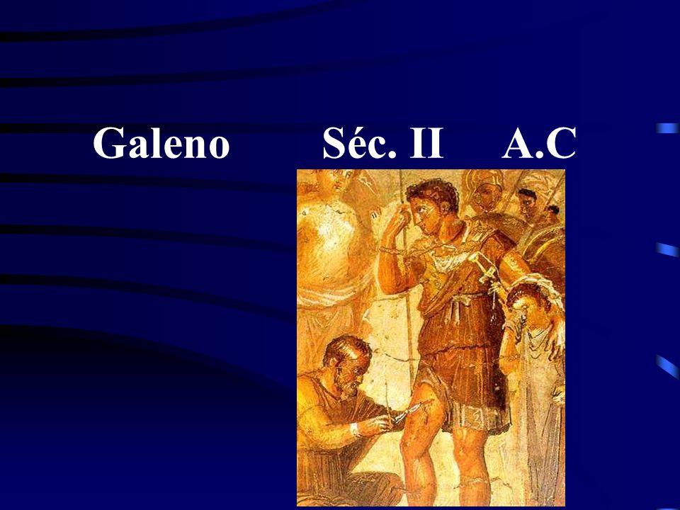 Galeno Séc. II A.C