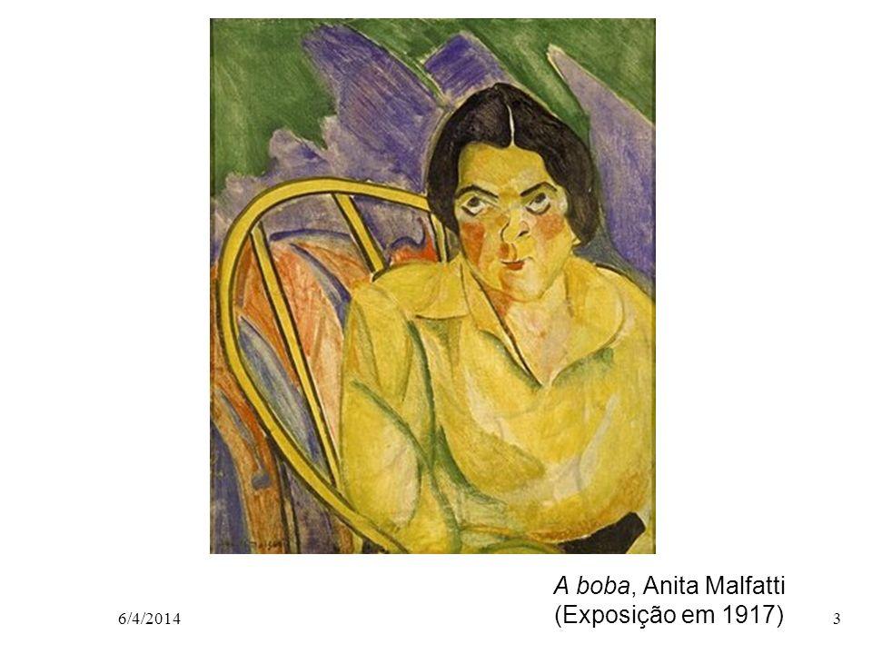 A boba, Anita Malfatti (Exposição em 1917) 6/4/20143