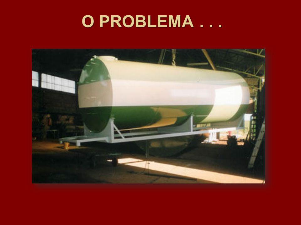 Como obter o volume de combustível remanescente utilizando uma régua graduada? O PROBLEMA...