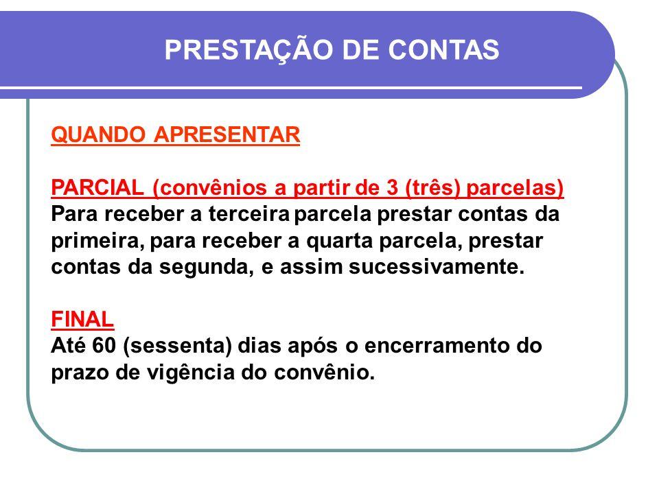 IMPLICAÇÕES DA NÃO APRESENTAÇÃO DA PRESTAÇÃO DE CONTAS 1.