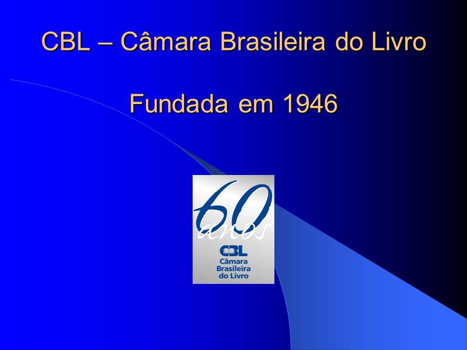 CBL – Câmara Brasileira do Livro Fundada em 1946