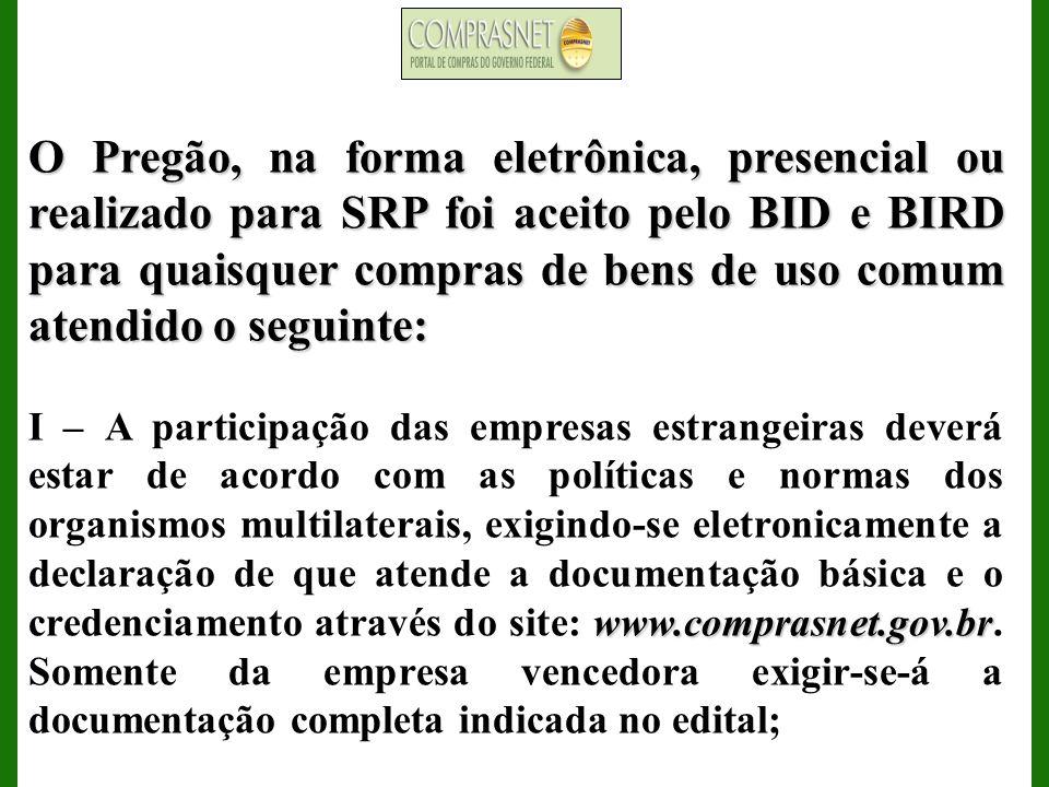 ENCERRAMENTO DA ETAPA DE LANCES Informa tempo de iminência