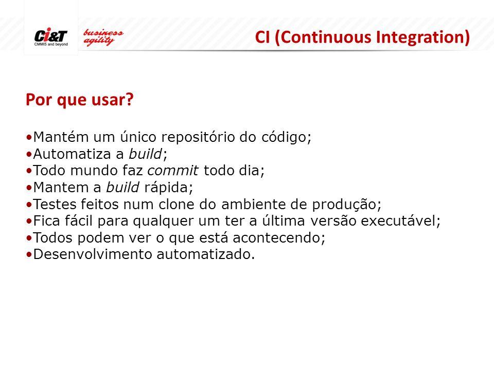 CI (Continuous Integration) Por que usar.
