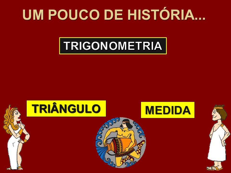 UM POUCO DE HISTÓRIA... TRIÂNGULO MEDIDA
