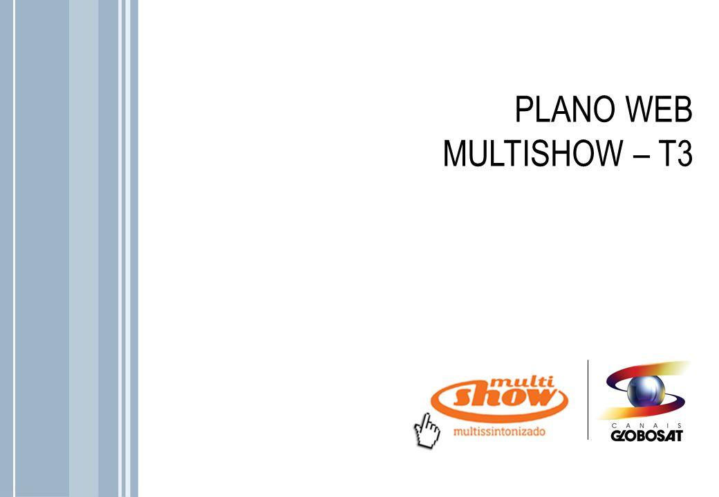 Música, humor e comportamento o internauta encontra aqui nas seções do site do Multishow.