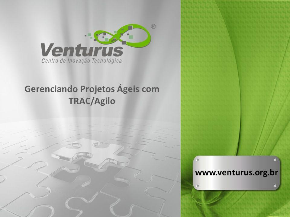 TRAC com Agilo no Venturus