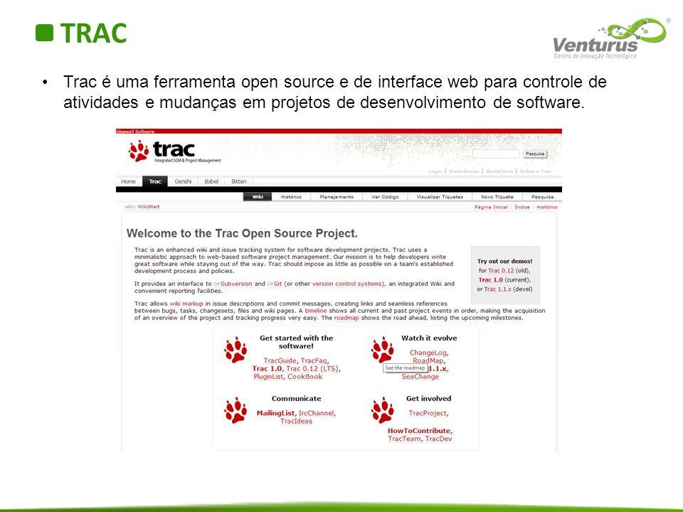 Quem usa o TRAC Algumas empresas que usam o TRAC: Laboratório de Propulsão a Jato da NASA PriceWaterHouseCoopers Nokia Universidade da Califórnia (UCSD)