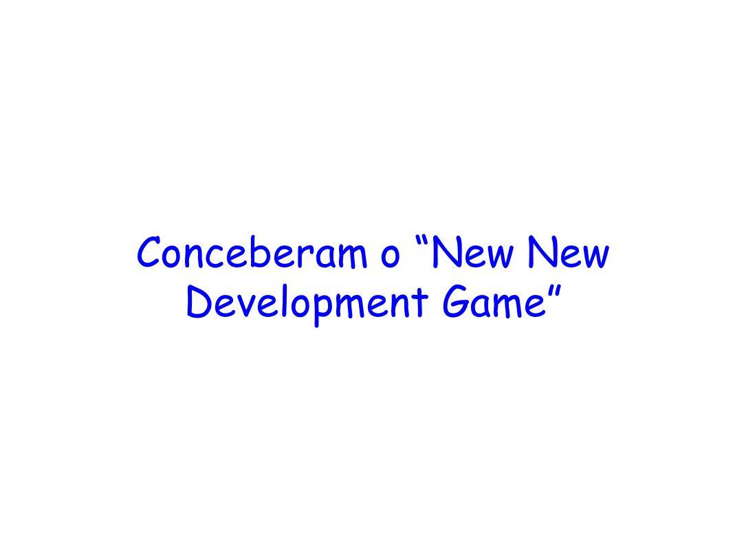 Conceberam o New New Development Game