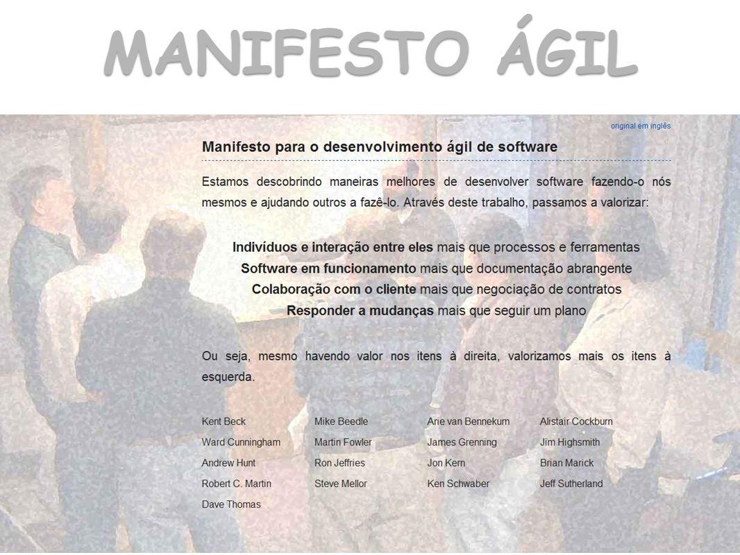 MANIFESTO ÁGIL