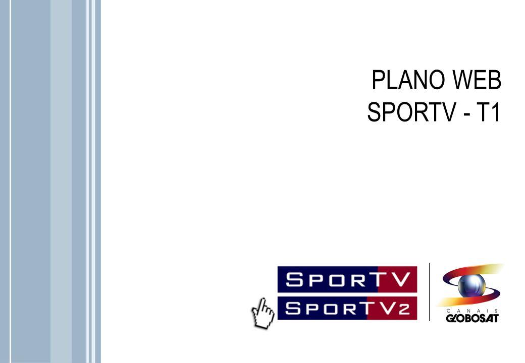 No site do SporTV o internauta encontra o melhor da programação esportiva do canal Campeão: vídeos, blogs da equipe de jornalistas do canal, notícias e muita interatividade como o mural da comunidade SporTV são algumas das seções que o internauta encontra no sportv.com.br.