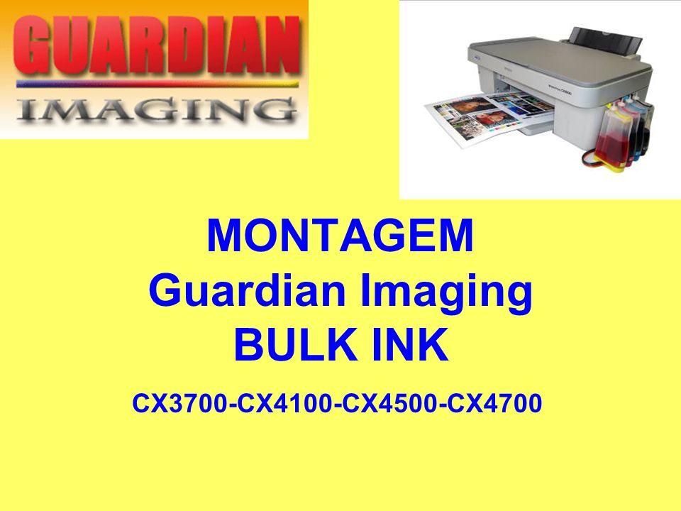MONTAGEM Guardian Imaging BULK INK CX3700-CX4100-CX4500-CX4700