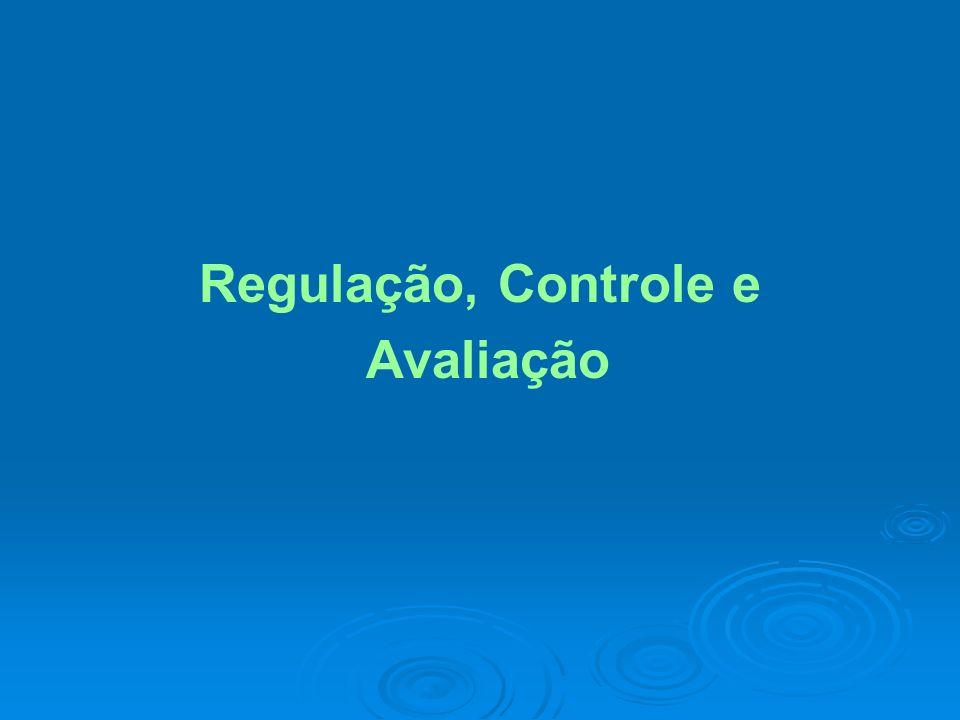 Regulação, Controle e Avaliação