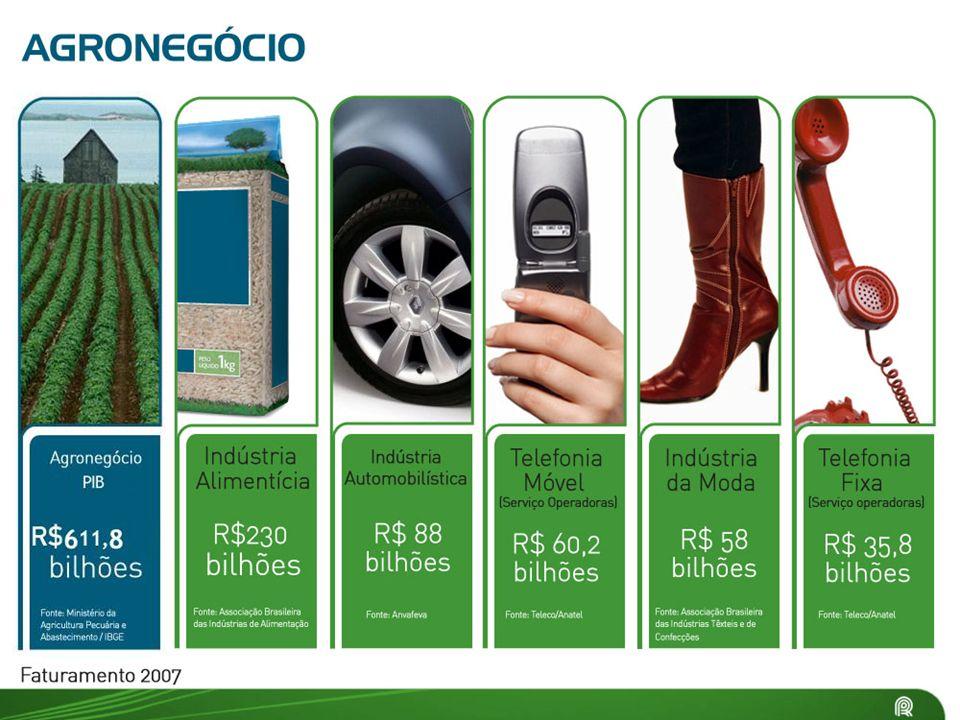 Bens de Consumo 79% possuem automóveis.