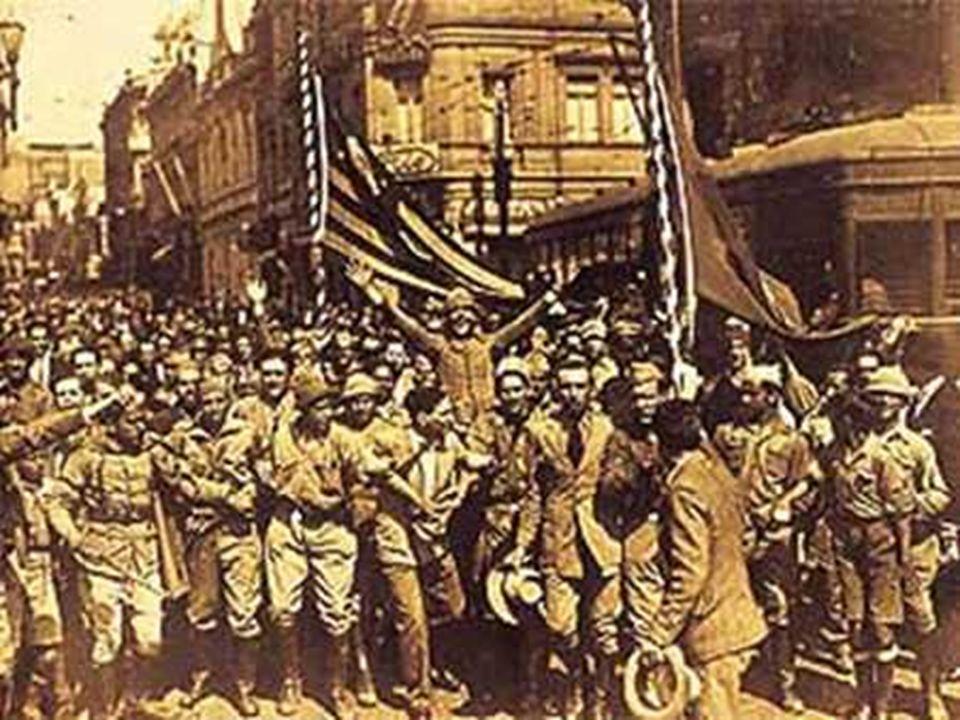 O PÓS-GUERRA Diante da vitória das potências aliadas contra as forças do nazi-fascismo, e das pressões internas, Vargas apresentou um programa voltado para reinstalação da ordem democrática no país.