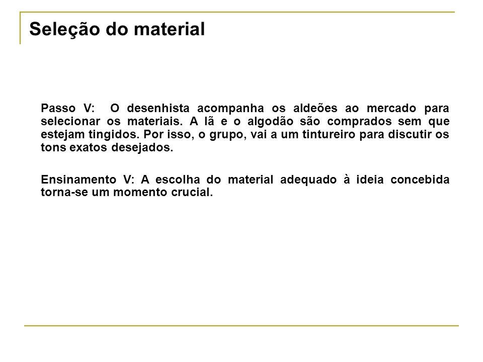 Gestão de Riscos Passo VI: A primeira fase da confecção consiste no processo de tingimento.