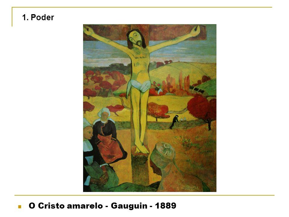 1. Poder O Cristo amarelo - Gauguin - 1889