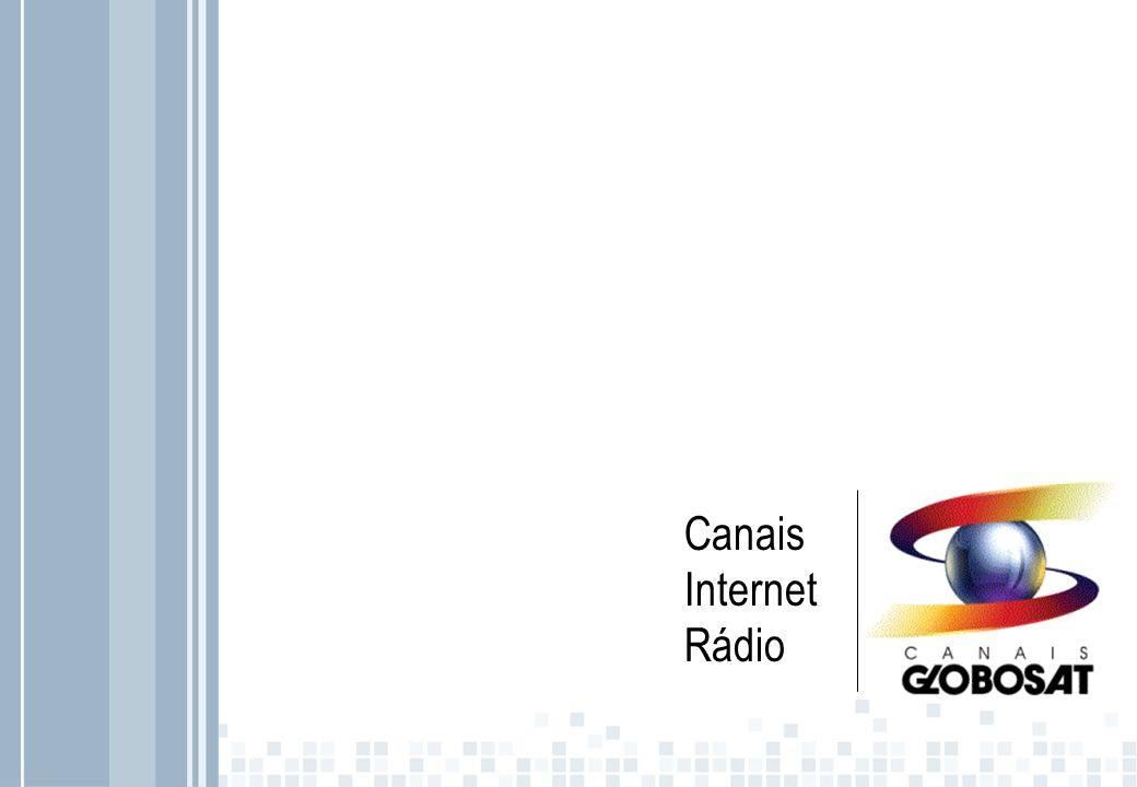 Canais Internet Rádio