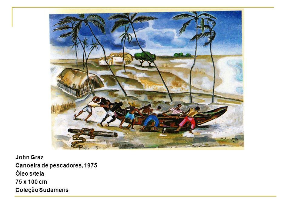John Graz Canoeira de pescadores, 1975 Óleo s/tela 75 x 100 cm Coleção Sudameris
