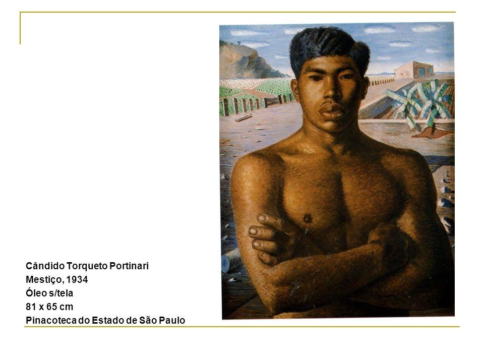 Cândido Torqueto Portinari Mestiço, 1934 Óleo s/tela 81 x 65 cm Pinacoteca do Estado de São Paulo