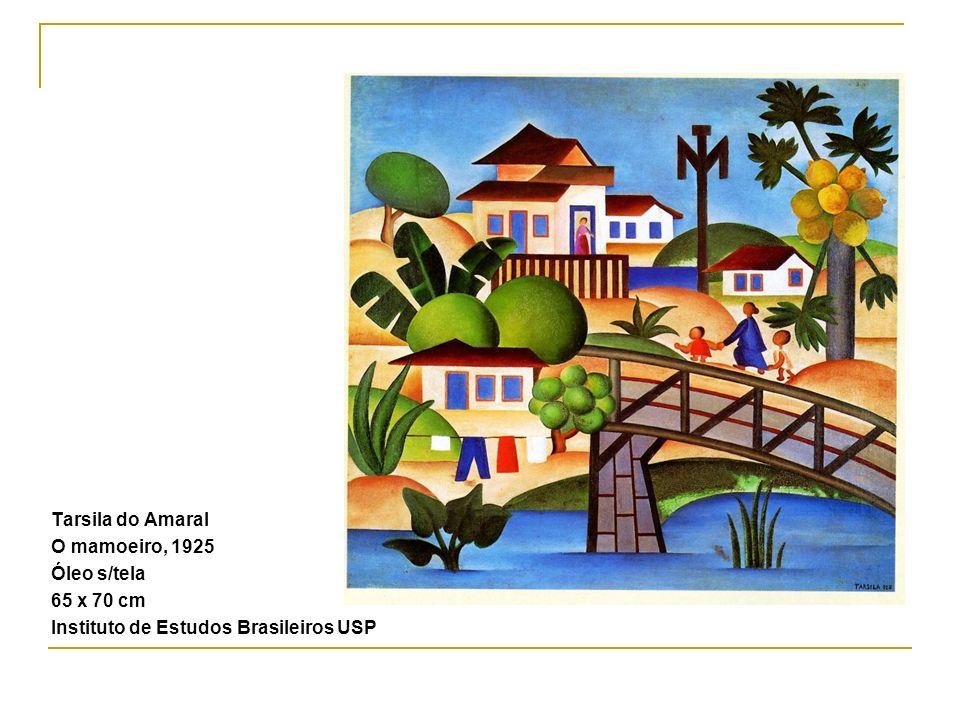 Tarsila do Amaral O mamoeiro, 1925 Óleo s/tela 65 x 70 cm Instituto de Estudos Brasileiros USP