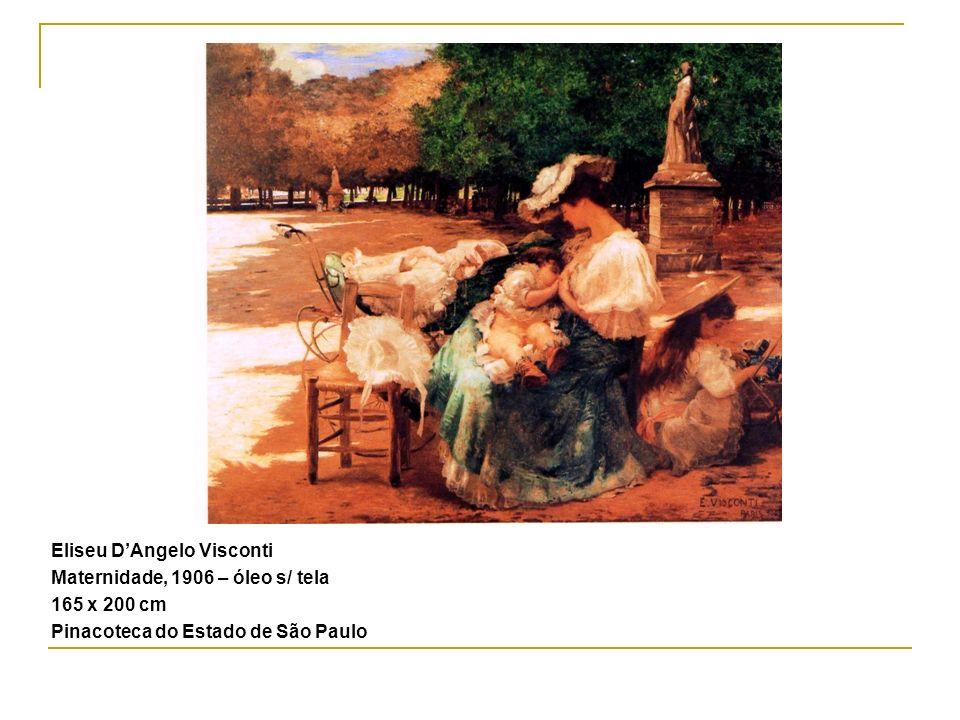 Eliseu DAngelo Visconti Maternidade, 1906 – óleo s/ tela 165 x 200 cm Pinacoteca do Estado de São Paulo