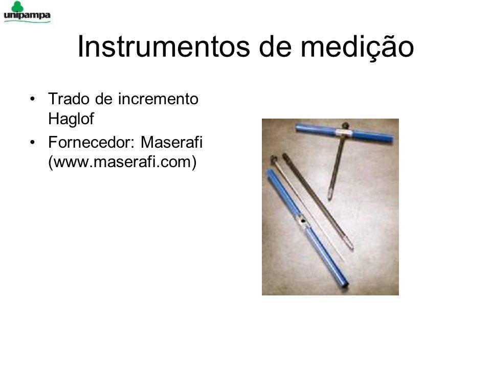 Instrumentos de medição Trado de incremento Haglof Fornecedor: Maserafi (www.maserafi.com)