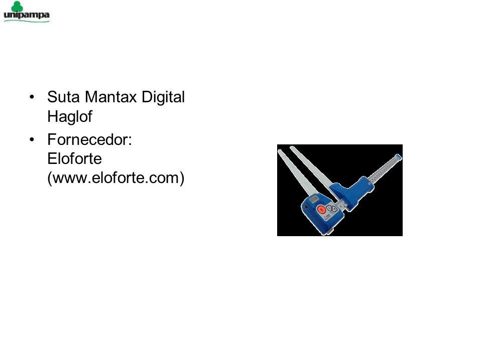 Suta Mantax Digital Haglof Fornecedor: Eloforte (www.eloforte.com)