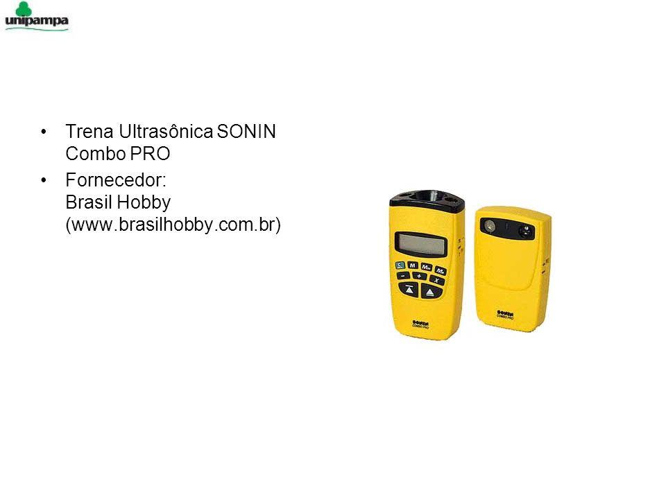 Trena Ultrasônica SONIN Combo PRO Fornecedor: Brasil Hobby (www.brasilhobby.com.br)