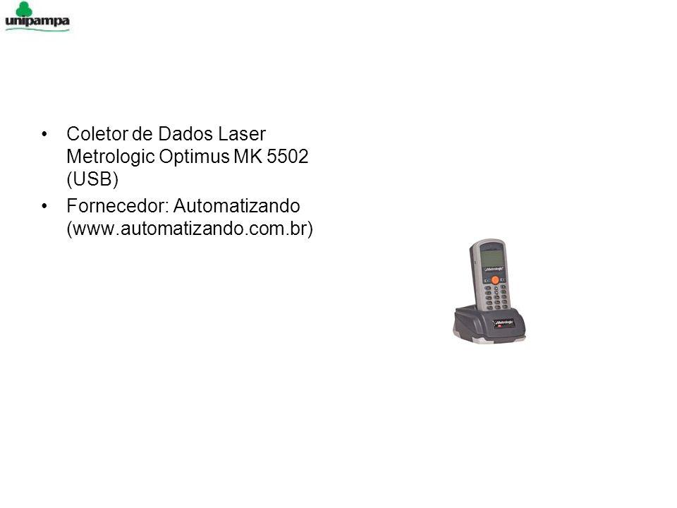 Coletor de Dados Laser Metrologic Optimus MK 5502 (USB) Fornecedor: Automatizando (www.automatizando.com.br)
