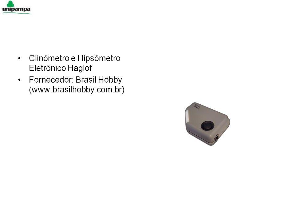 Clinômetro e Hipsômetro Eletrônico Haglof Fornecedor: Brasil Hobby (www.brasilhobby.com.br)