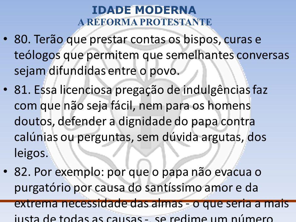 IDADE MODERNA A REFORMA PROTESTANTE –Ana Bolena