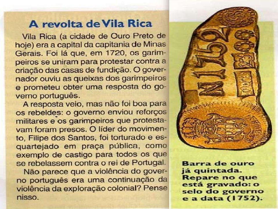 BRASIL COLÔNIA SÉCULO DO OURO E EXPANSÃO TERRITORIAL (XVIII)