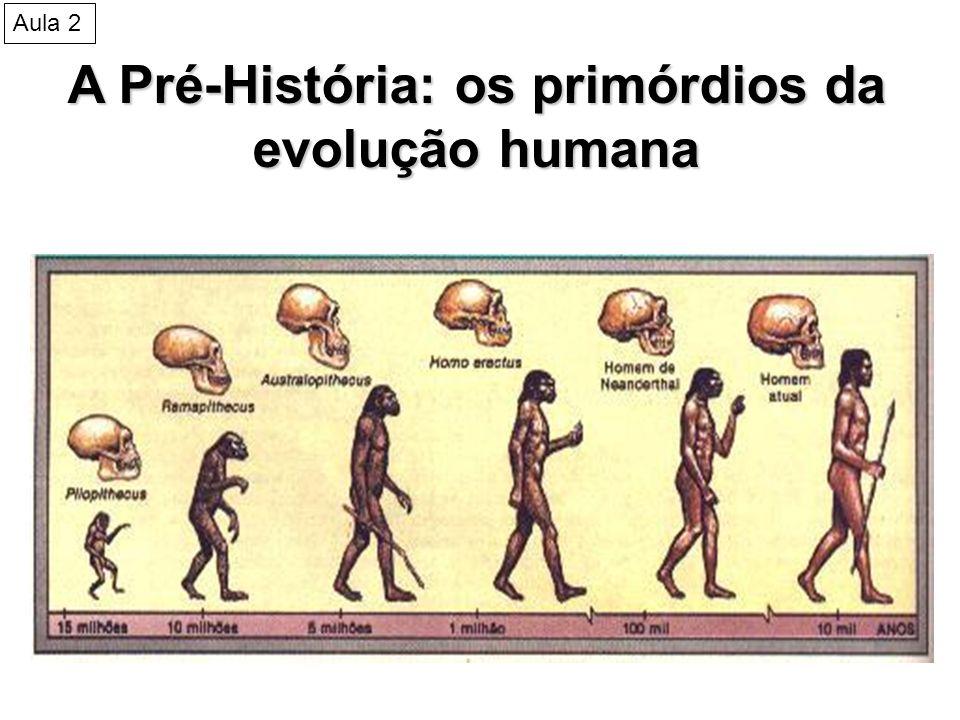 A Pré-História: os primórdios da evolução humana Cueva de las manos, Santa Cruz, Argentina Aula 2