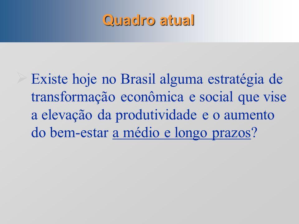 Depois da era desenvolvimentista: 1980 em diante (hipóteses de trabalho) Características da produção intelectual sobre desenvolvimento Inibida pela in