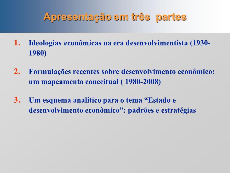 O pensamento desenvolvimentista no Brasil (1930-2008) Ricardo Bielschowsky Escritório da CEPAL no Brasil Escritório da CEPAL no Brasil Apresentação na