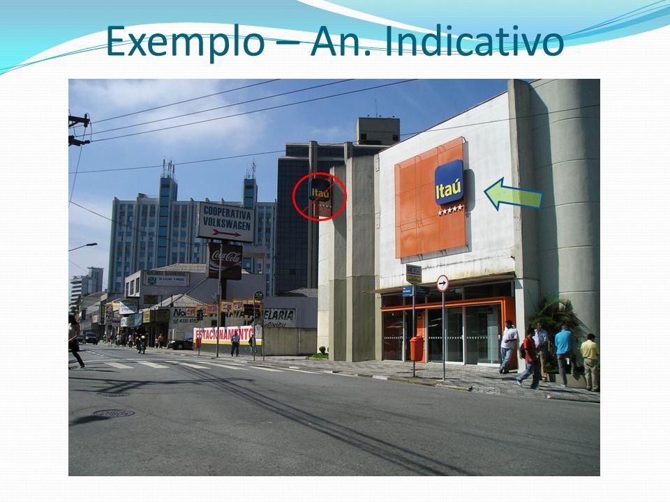 Exemplo – An. Indicativo