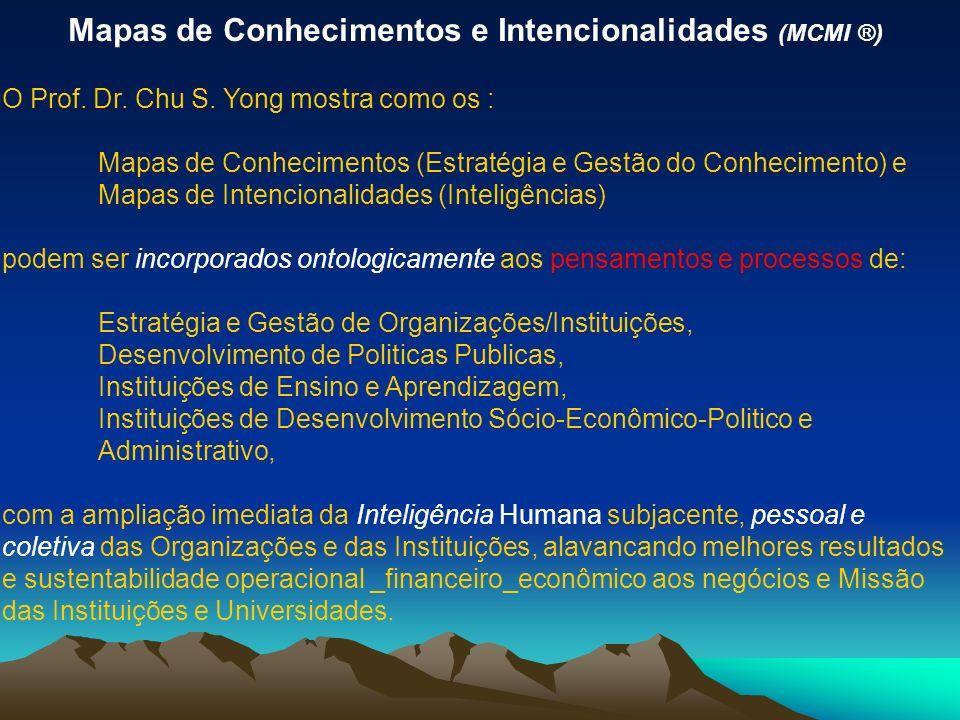 Mapas de Conhecimentos e Intencionalidades (MCMI ®) O Prof.
