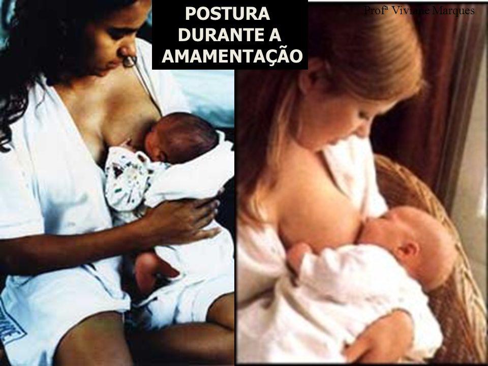 POSTURA DURANTE A AMAMENTAÇÃO Profª Viviane Marques