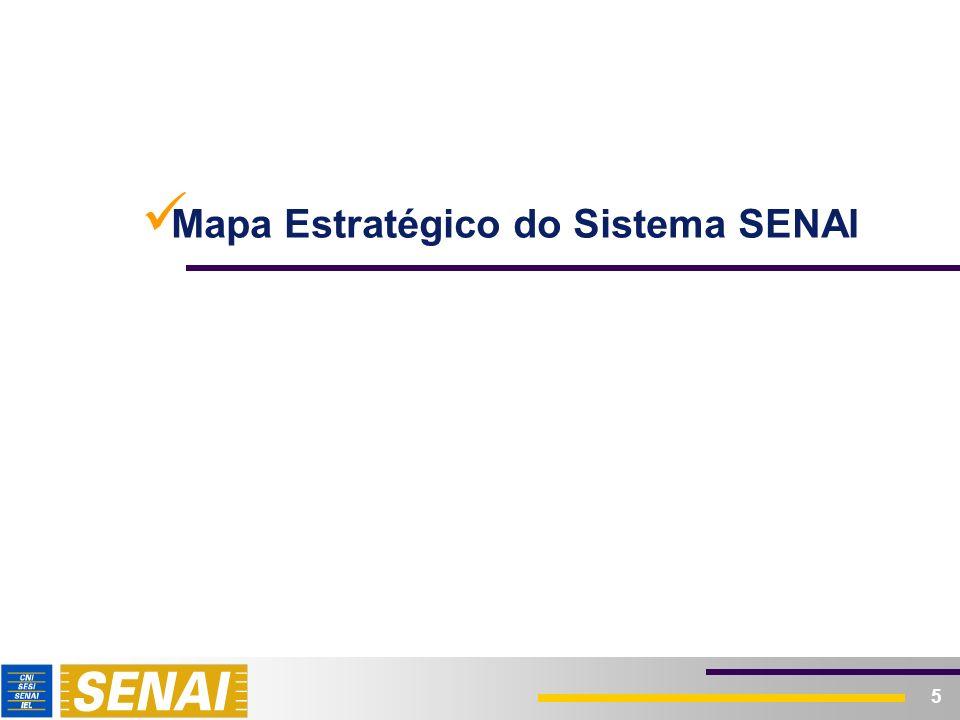 5 Mapa Estratégico do Sistema SENAI