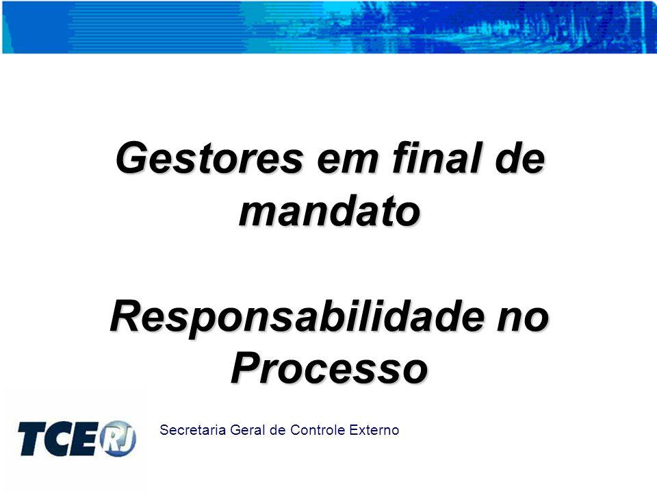 Criação do Grupo Técnico de Procedimentos Contábeis GTCON/SGE Secretaria Geral de Controle Externo