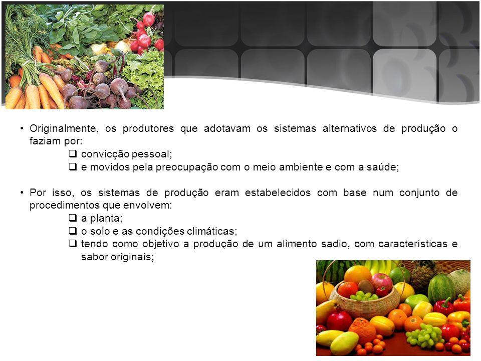 Esses agricultores consideravam a unidade produtiva como uma unidade indivisível, significando que todas as atividades da fazenda: olericultura; fruticultura; florestas produtivas; áreas de preservação, etc.