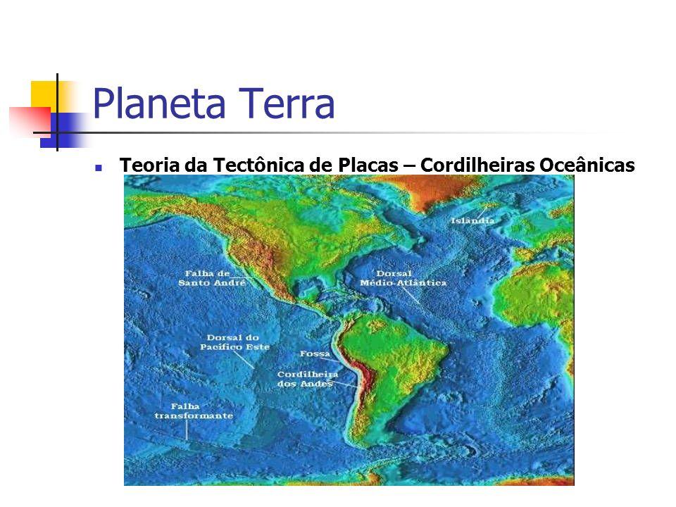 Teoria da Tectônica de Placas – Cordilheiras Oceânicas