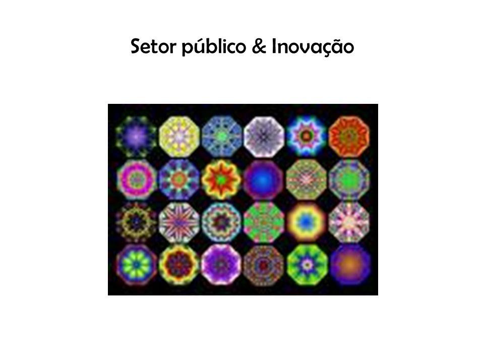 Setor público & Inovação