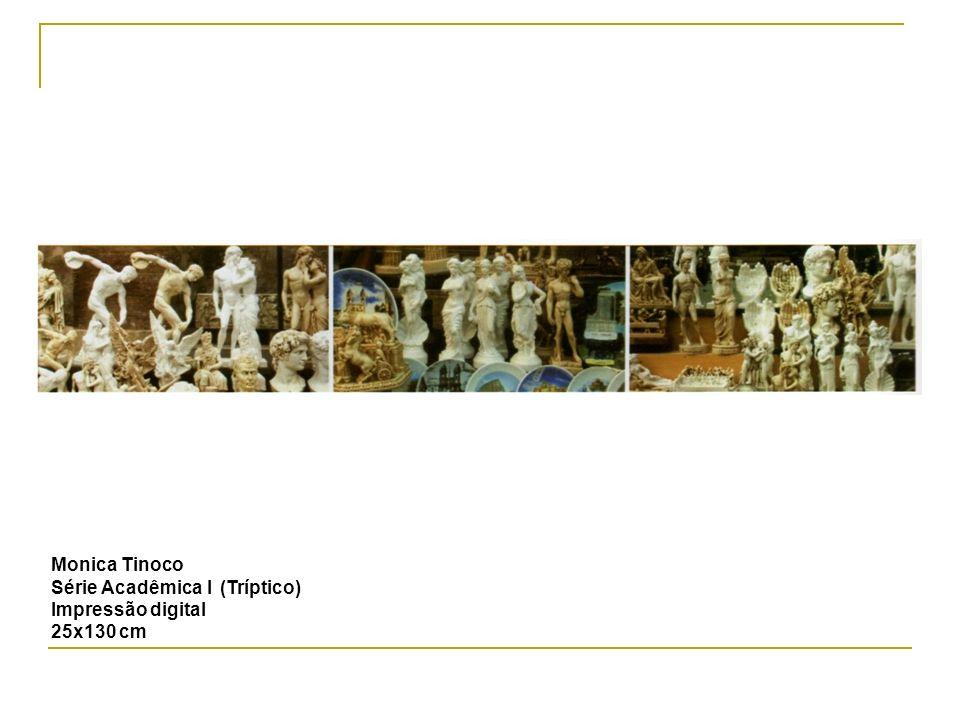 Monica Tinoco Série Acadêmica I (Tríptico) Impressão digital 25x130 cm