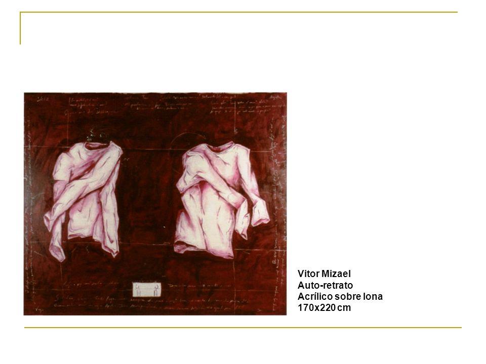 Vitor Mizael Auto-retrato Acrílico sobre lona 170x220 cm